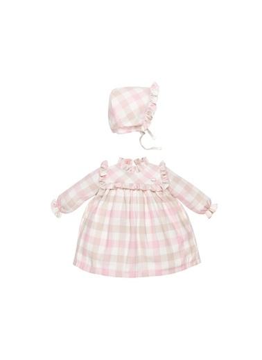 Babydolle Babydolle Kışlık Kareli Desen Bebe Yaka Şapkalı Kız Bebek Elbise-Pembe Babydolle Kışlık Kareli Desen Bebe Yaka Şapkalı Kız Bebek Elbise-Pembe Pembe